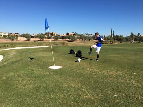 フットゴルフ